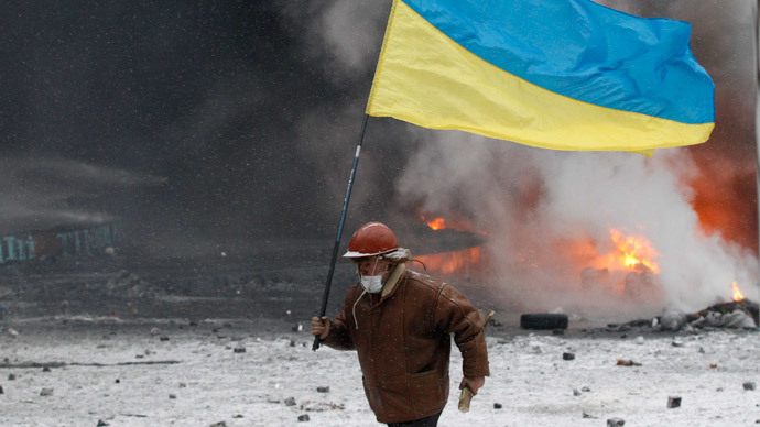 'Shame on you!' Ukrainian president booed by protesters on Maidan (VIDEO, PHOTOS)