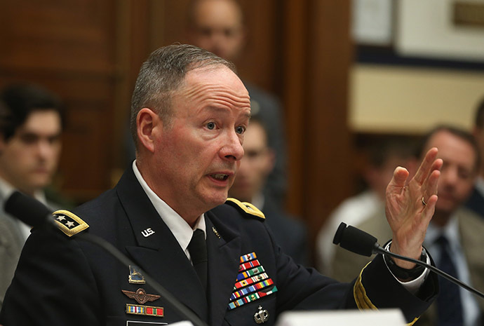 U.S. Army Gen. Keith Alexander (AFP Photo/Mark Wilson)