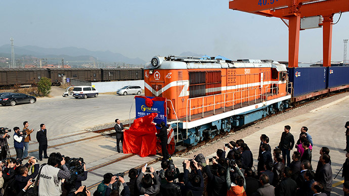 ​Move over Trans-Siberian: China launches 'world's longest' train route