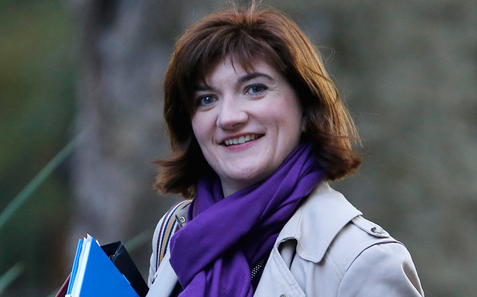 Secretary of State for Education Nicky Morgan (Reuters / Suzanne Plunkett)