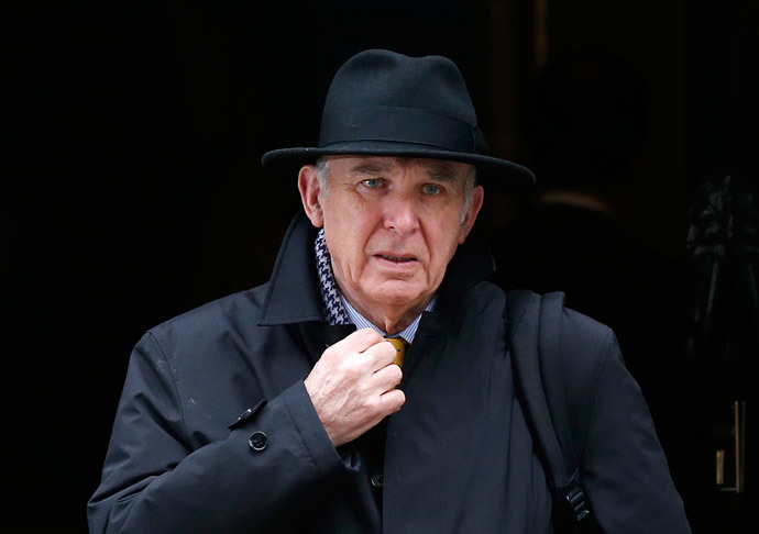 Britain's Business Secretary Vince Cable (Reuters / Suzanne Plunkett)