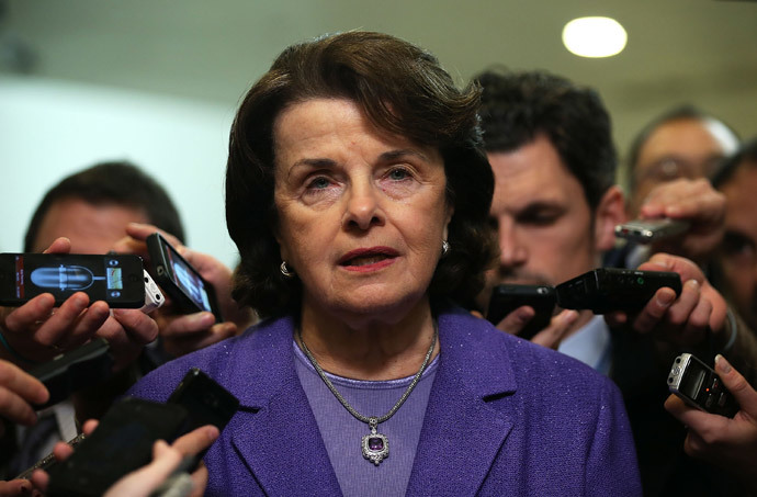U.S. Select Committee on Intelligence chairwoman Sen. Dianne Feinstein (Alex Wong / Getty Images / AFP)