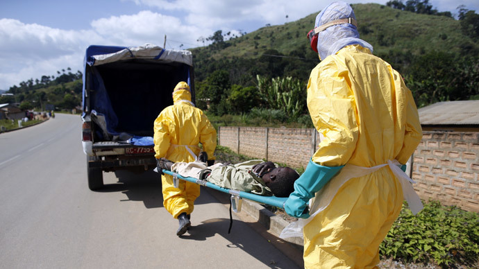 Guinea bandits steal blood suspected to be Ebola-contaminated