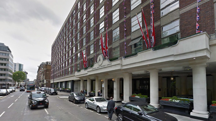 14 injured in gas explosion at London Hyatt Churchill hotel