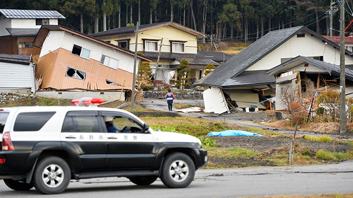 Dozens injured as 6.8 earthquake jolts central Japan (PHOTOS, VIDEO)