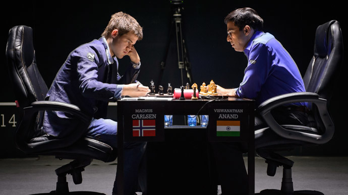 Norway's Magnus Carlsen defends world chess crown in Sochi