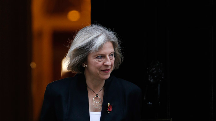 Britain's Home Secretary Theresa May.(Reuters / Suzanne Plunkett)