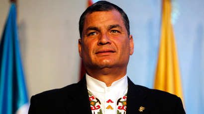 Hacked from 'US servers': Ecuador leader claims attacks on his private computer