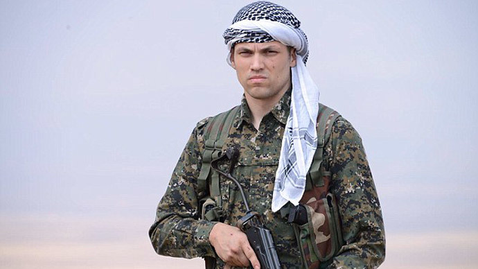 Wisconsin high school graduate Jordan Matson reportedly went to Syria to join the Kurds. Photo from facebook.com/jordan.matson.3