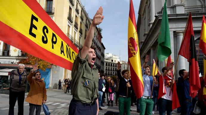 Far-right Spaniards mark anniversary of General Franco's death (VIDEO, PHOTOS)