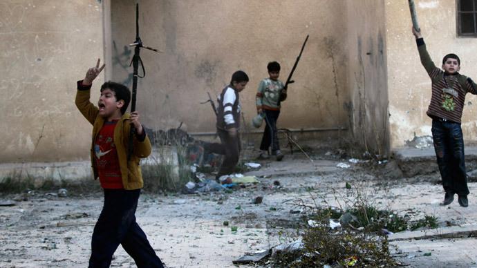 Kids' crusade: ISIS abducting & indoctrinating children – UN
