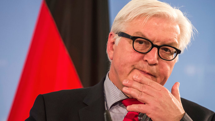 German foreign minister Frank-Walter Steinmeier.(AFP Photo / Odd Andersen)