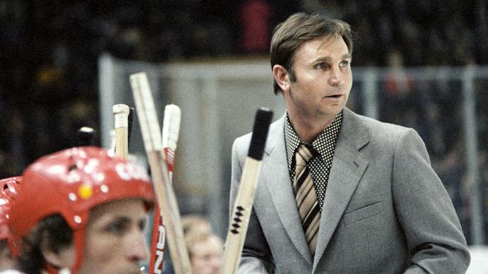 Ice hockey legend, father of Soviet Red Machine, dies at 84