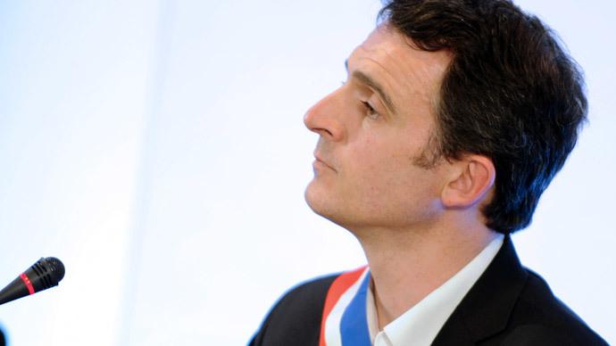 Mayor of Grenoble Eric Piolle.(AFP Photo / Jean Pierre Clatot)