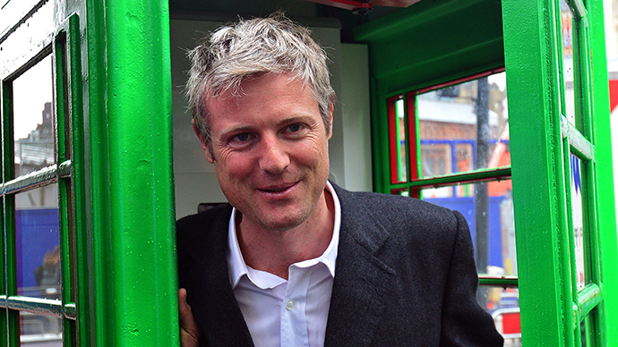 British Conservative Party politician Zac Goldsmith (AFP Photo / Carl Court)