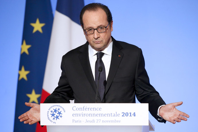 French President Francois Hollande (AFP Photo/Michel Euler)