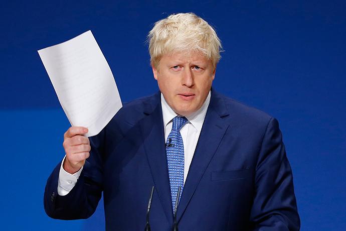 London Mayor Boris Johnson (Reuters / Darren Staples)