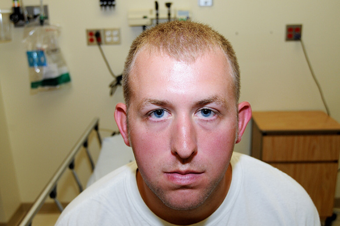 This undated hand out photograph released November 24, 2014 by the office of St. Louis County Prosecuting Attorney Robert McCullough shows police officer Darren Wilson (AFP Photo / St. Louis County Prosecutor's Office)