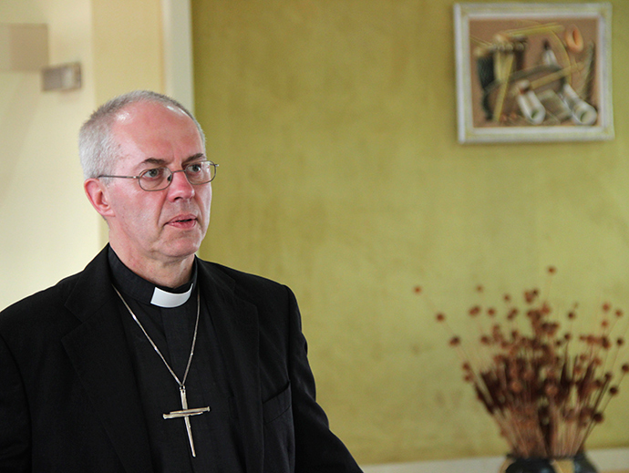 The Archbishop of Canterbury Justin Welby (Reuters / Jean Pierre)