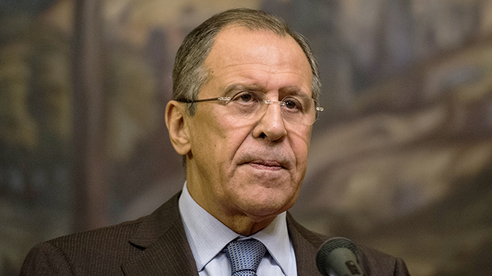 Using terrorists for regime change is unacceptable - Lavrov