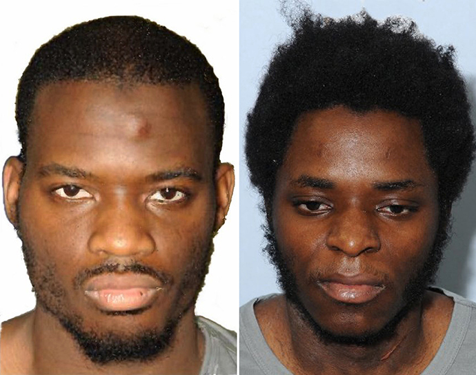 Michael Adebolajo (L) and Michael Adebowale (AFP Photo / Metropolian Police)