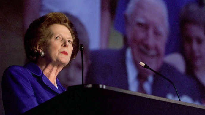 Margaret Thatcher.(Reuters)