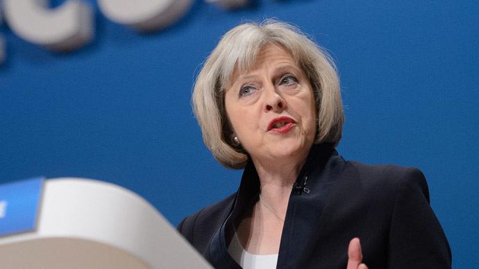 British Home Secretary Theresa May (AFP Photo/Leon Neal)