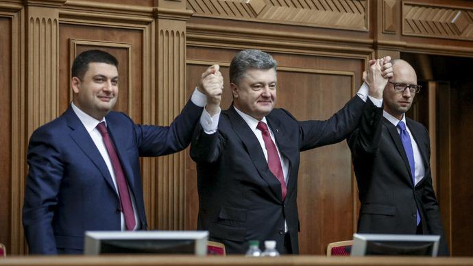American, Georgian & Lithuanian get key jobs in Ukraine's new govt