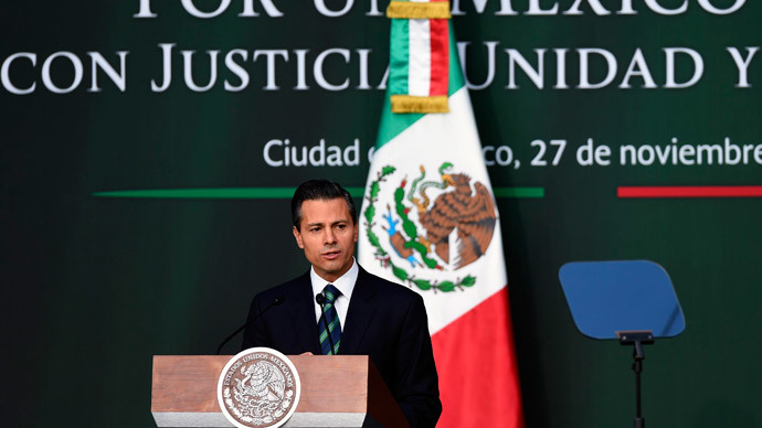 'Mexico has to change': Pena Nieto pledges reform after 43 students 'massacred'