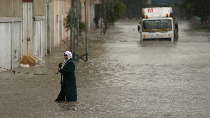 Palestine accuses Israel of opening dams, flooding Gaza, forcing evacuations