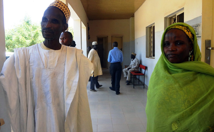 Both of her parents attended the hearing at Gezawa High Court in Nigeria (AFP Photo/Aminu Abubakar)