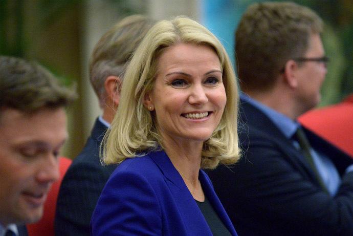 Denmark's Prime Minister Helle Thorning-Schmidt (Reuters/Wang Zhao)