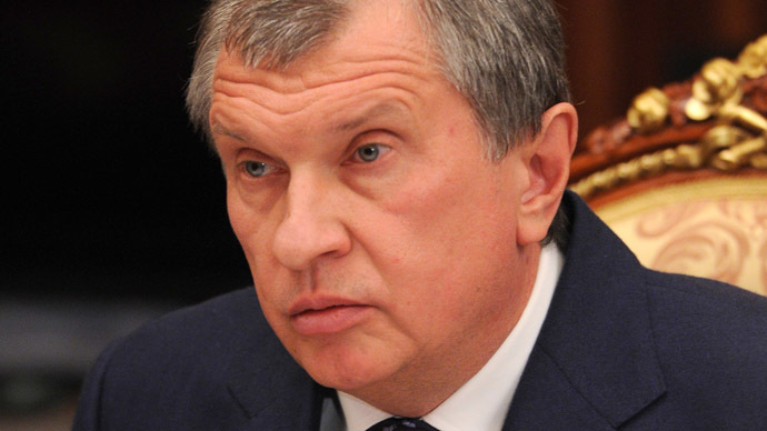 Rosneft head Igor Sechin (RIA Novosti/Michael Klimentyev)
