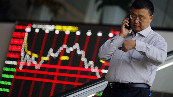 China overtakes Japan to become world's second largest stock market