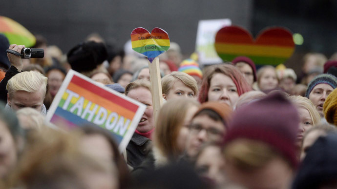 Same-sex marriages get green light from Finland's MPs