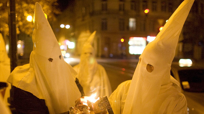Anonymous posts KKK leader's personal data online in ongoing war over Ferguson