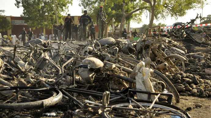At least 120 dead in Nigeria mosque suicide bombing