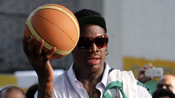 'If a kid had a toy gun at you, what would you do?' Dennis Rodman speaks to RT about Ferguson