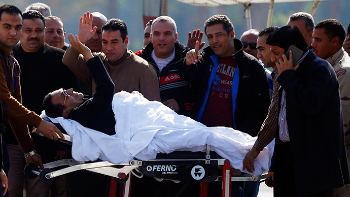 At least two killed during Mubarak verdict protest near Tahrir Square