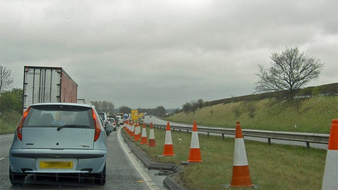 A1 road in UK's north shut down after 'explosion'