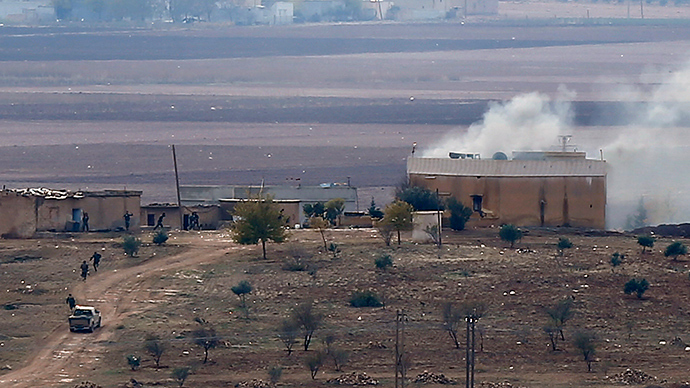 ISIS attack on Kobani comes from Turkey – Kurds