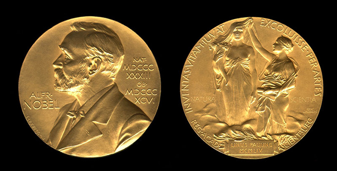 Nobel Prize medal (Image from wikipedia.org)