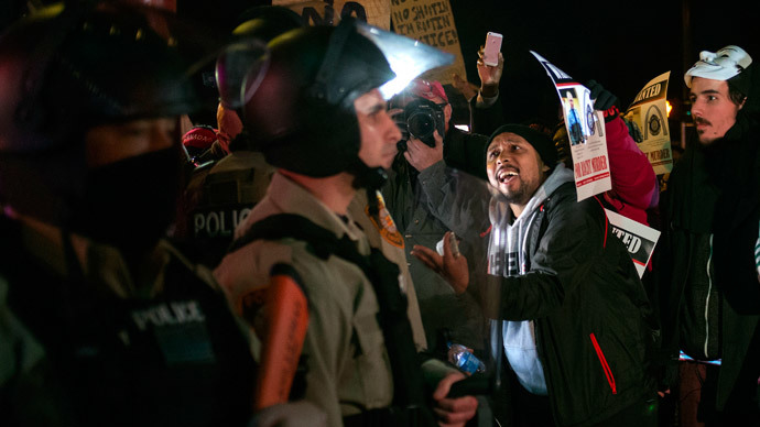 #DontShootPDX: 10 arrests, flash bangs in Portland at Ferguson support rally