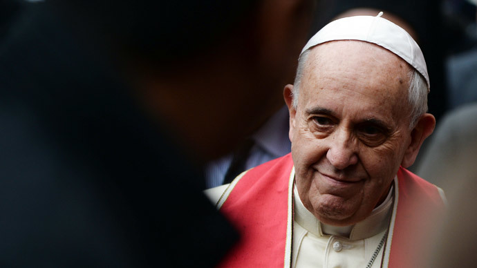 Pope brands ISIS violence in Syria, Iraq 'grave sin against God'