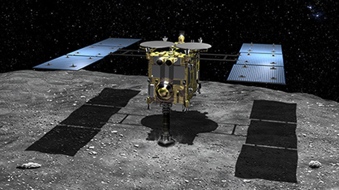 Japanese 'Rosetta' blasts off on asteroid quest