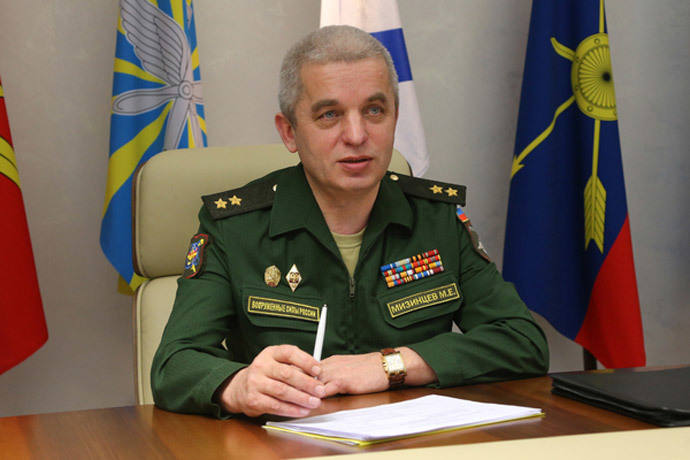 Lt. General Michail Mizintsev. Image by Defence Ministy