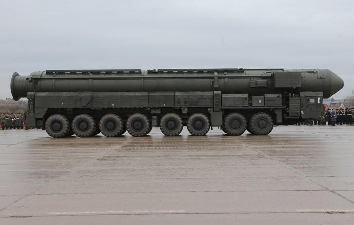 A Topol-M ballistic missile (RIA Novosti / Vitaliy Belousov)