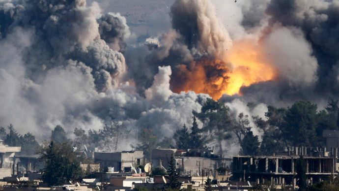 US coalition launches 55 airstrikes on ISIS over weekend