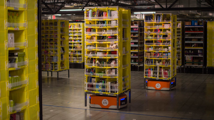 Amazon unleashes 15,000 hauler robots for Cyber Monday packaging