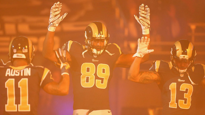 Cops demand Rams players who showed solidarity with Ferguson to be punished